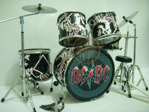 how to play acdc on drums