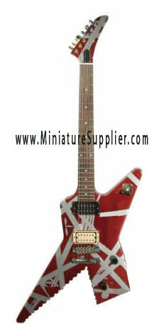 miniature Guitar Van Halen Shark Destroyer