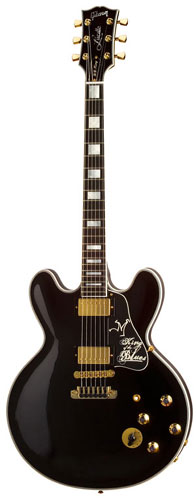 Miniature guitar BB King Signature