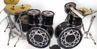 Miniature drum kits in many available models